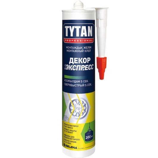 Клей монтажный Tytan Professional / Титан Декор Экспресс