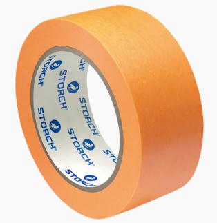 Лента малярная, бумажная экстра тонкая Storch / Шторх 493638