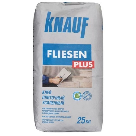 Клей для плитки Knauf Fliesen Plus / Кнауф Флизен Плюс