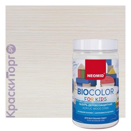 Лазурь деревозащитная Neomid BioColor for Kids / Неомид БиоКолор Кидс