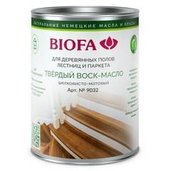 Воск-масло твердый профессиональный Biofa 9032 / Биофа шелковисто-матовый