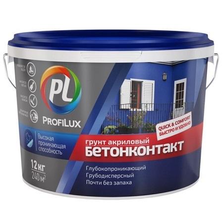 Грунт акриловый бетонконтакт ProfiLux / Профилюкс