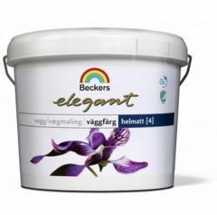 Краска для стен и потолков Beckers Elegant 4 Vaggfarg HelMatt / Беккерс Элегант матовая