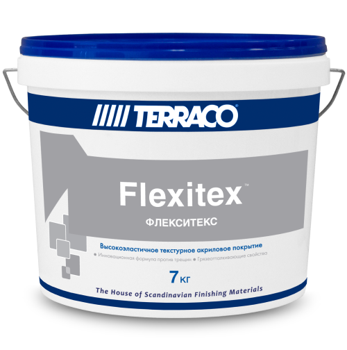 Покрытие текстурное Terraco Flexitex / Террако Флекситекс