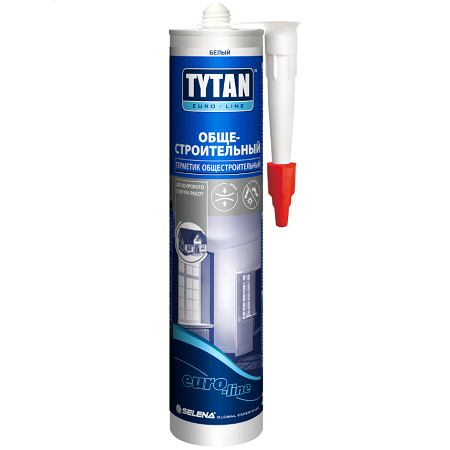 Герметик силиконакриловый, общестроительный Tytan Euro-Line / Титан