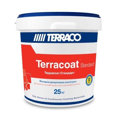 Штукатурка декоративная шагрень Terraco Terracoat Standart / Террако Стандарт