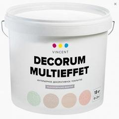 Покрытие структурное Vincent Decorum Decor Multieffet / Винсент Декор