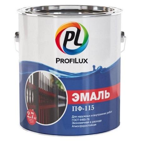 Эмаль ПФ-115 алкидная, универсальная по ГОСТ 6465-76 ProfiLux / Профилюкс