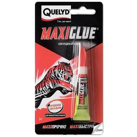 Клей-гель секундный Quelyd Maxi Glue / Келид Макси Глю