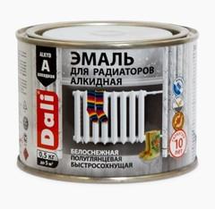 Эмаль для радиаторов алкидная Dali / Дали