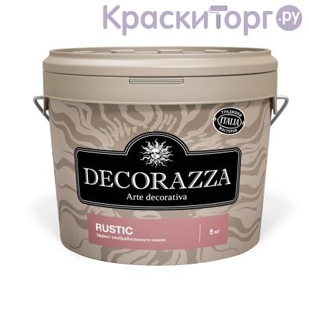 Декоративная штукатурка с эффектом необработанного камня Decorazza Rustic / Декорацца Рустик