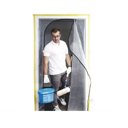 Пленочная дверь с молнией Color Expert / Колор Эксперт 96962217 многоразовая
