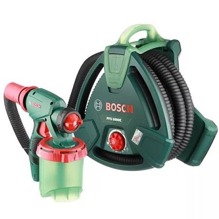 Краскораспылитель электрический для всех видов ЛКМ Bosch  PFS 5000E мощность 1200 Вт