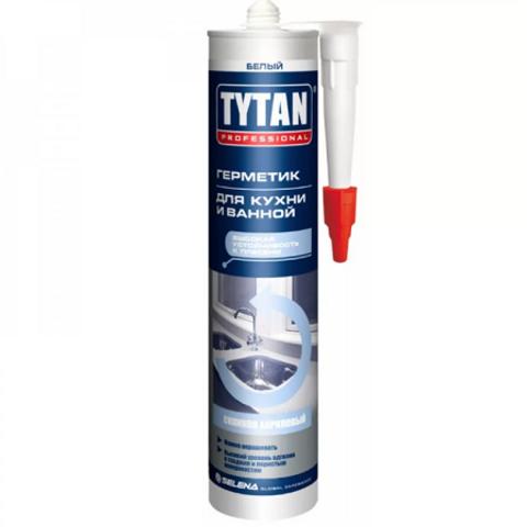 Герметик силиконакриловый для кухни и ванной Tytan Professional / Титан