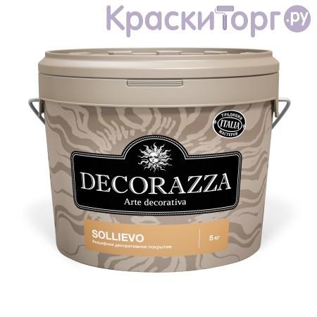Рельефная декоративная штукатурка с добавлением специальных волокон Decorazza Sollievo / Декорацца
