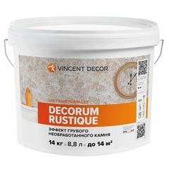 Эффект грубого необработанного камня Vincent Decor Decorum Rustique / Винсент Декор