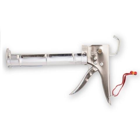 Пистолет для герметиков и жидких гвоздей Color Expert / Колор Эксперт стальной 94108012