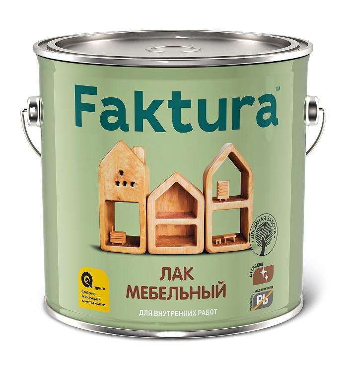 Лак мебельный Faktura / Фактура глянцевый