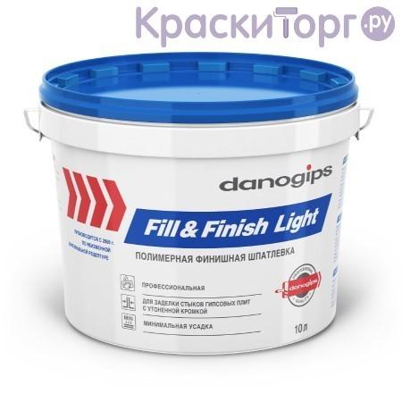 Шпатлевка универсальная финишная полимерная Danogips Fill&Finish Light / Даногипс Фил Финиш Лайт