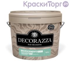 Штукатурка декоративная с эффектом бетона крупной фракции Decorazza Microcemento Struttura