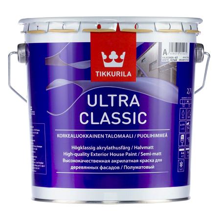 Краска для деревянных фасадов Tikkurila Ultra Classic / Тиккурила Ультра Классик