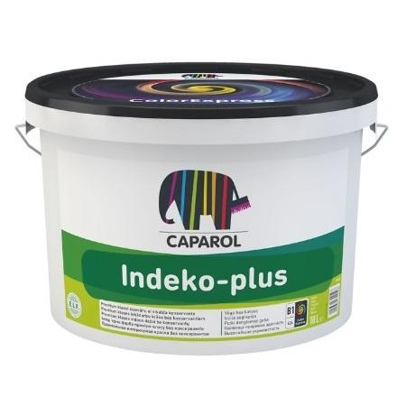 Краска для стен и потолков Caparol Indeko-Plus / Капарол Индеко Плюс глубокоматовая