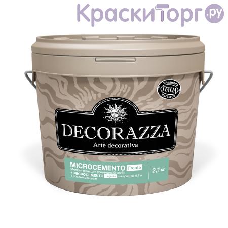 Штукатурка декоративная  с эффектом бетона мелкой фракции Decorazza Microcemento Fronte