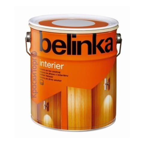 Декоративное лазурное покрытие для древесины Belinka Interier / Белинка Интерьер