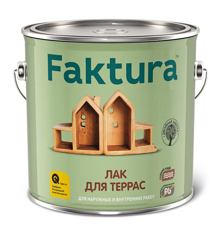 Лак для террас Faktura / Фактура глянцевый