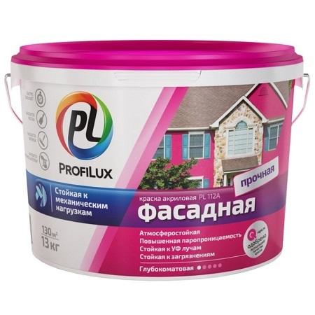 Краска фасадная акриловая ProfiLux PL-112А / Профилюкс