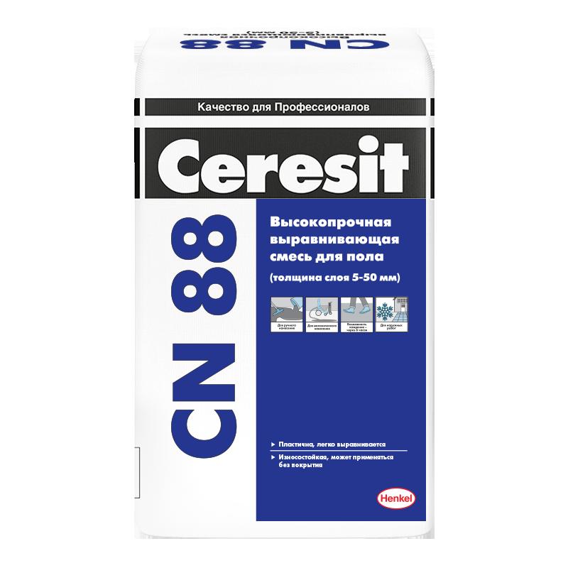 Смесь выравнивающая для пола Ceresit CN 88 / Церезит CN 88