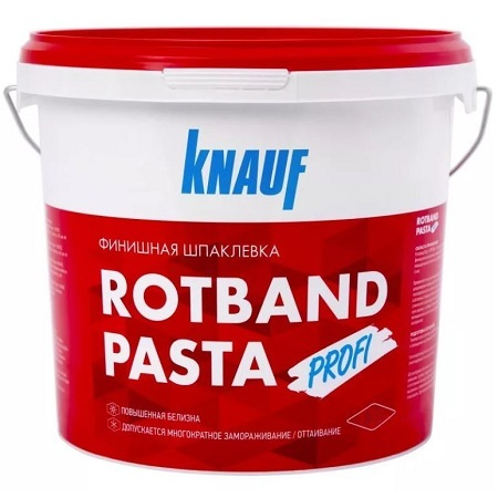 Шпатлевка финишная на виниловой основе Knauf Rotband Pasta / Кнауф Ротбанд Паста