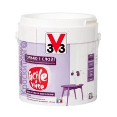 Краска однослойная для стен и потолков V33 Facile а Vivre / В33