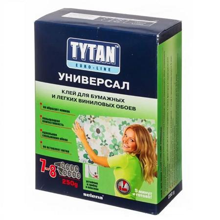 Клей для бумажных обоев Tytan Euro-Line / Титан