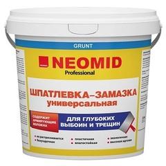 Шпатлевка-замазка универсальная для выбоин и трещин Neomid / Неомид