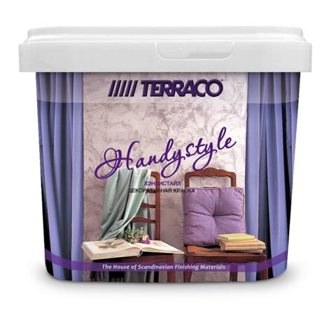 Краска декоративная перламутровая Terraco Handystyle / Террако Хэндистайл