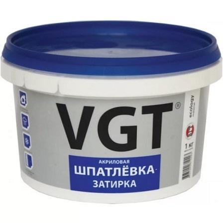 Шпатлевка затирка акриловая, водостойкая VGT / ВГТ