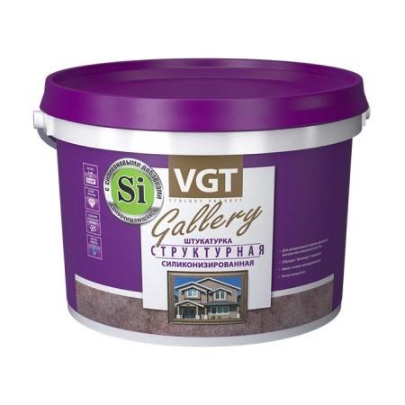 Штукатурка декоративная Структурная силиконизированная VGT Gallery / ВГТ