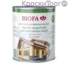 Масло защитное для деревянных фасадов Biofa 2043 / Биофа