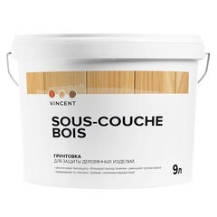 Грунтовка для древесины Vincent Sous-Couche Bois / Винсент Со-Куш Буа