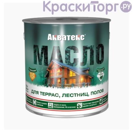 Масло для террас, лестниц и полов Акватекс