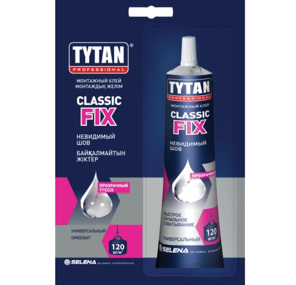 Клей монтажный Tytan Professional Classic Fix / Титан Классик Фикс