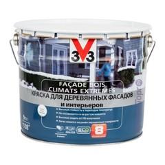 Краска для деревянных фасадов и интерьеров V33 Climats Extremes / В33 Климатс Экстримс