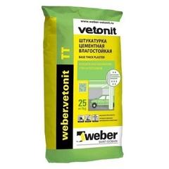 Штукатурка цементная, влагостойкая Weber Vetonit TT / Вебер Ветонит ТТ