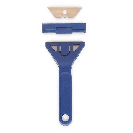 Скребок с запасным лезвием Color Expert / Колор Эксперт 93800127 пластиковая ручка