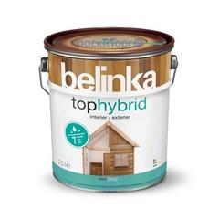 Декоративное лазурное покрытие для древесины Belinka Tophybrid / Белинка Топгибрид