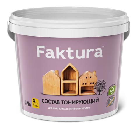 Состав тонирующий (морилка) Faktura / Фактура глянцевый