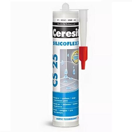 Затирка-герметик силиконовый Ceresit CS 25 / Церезит CS 25