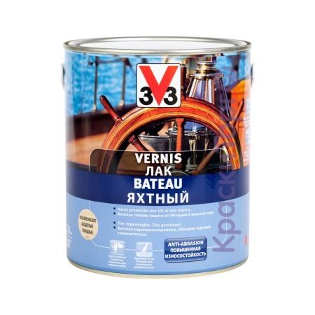Лак яхтный V33 глянцевый / В33