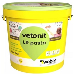 Шпатлевка супер финишная Weber Vetonit LR Pasta / Вебер Ветонит ЛР Паста